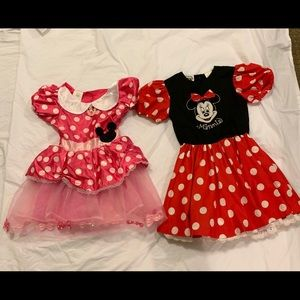 2 Disney Minnie mouse Beautiful party dresses